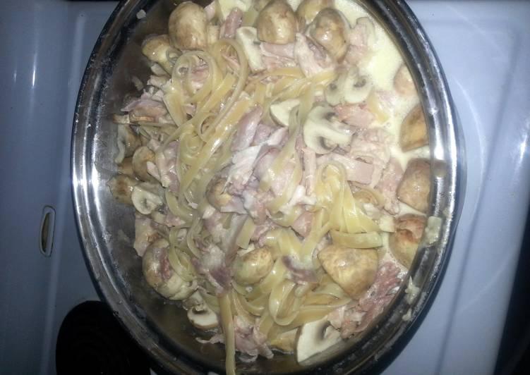 Step-by-Step Guide to Prepare Super Quick Homemade Creamy Chicken Fettucine