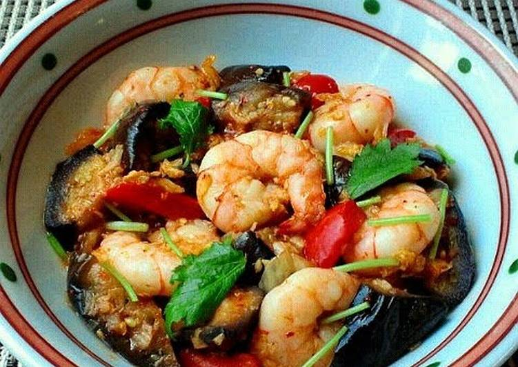 How To Handle Every Kimchi Sweet Vinegar Stir Fry with Shrimp and Eggplant