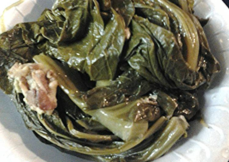 Step-by-Step Guide to Prepare Quick My Moms Mustard Greens