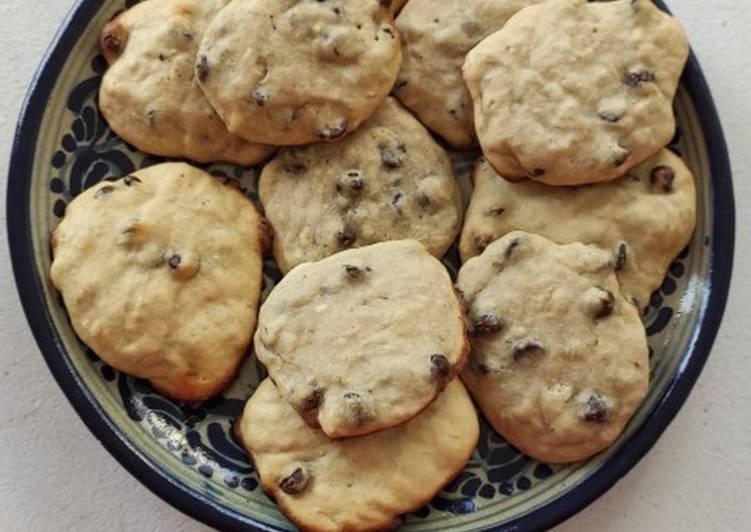 Le moyen le plus simple de Cuire Délicieux Cookies choco banane sans levure