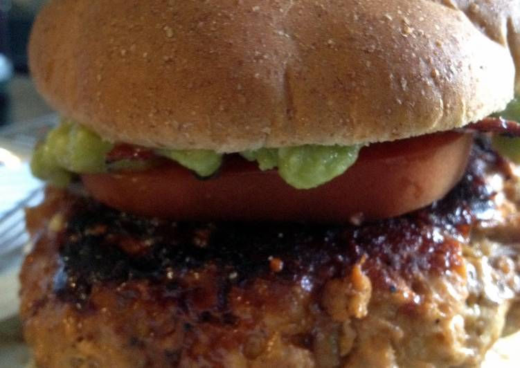 Texas Turkey Burger