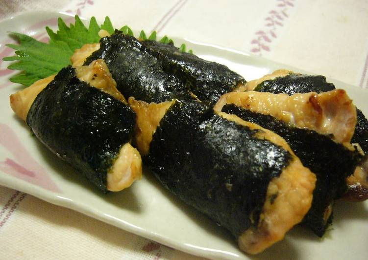Autumn is Here! Salmon with Seaweed (Isobe-Yaki), Heart Friendly Foods You Should Eat