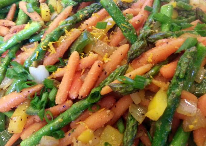 Sweet and Spicy Veggies