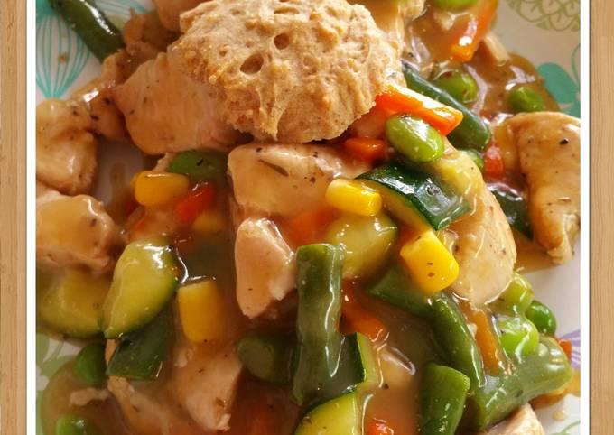 Recipe: Appetizing Easy Chicken & Dumplings