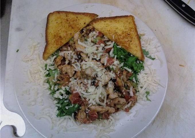 Grilled Italian Chicken Salad