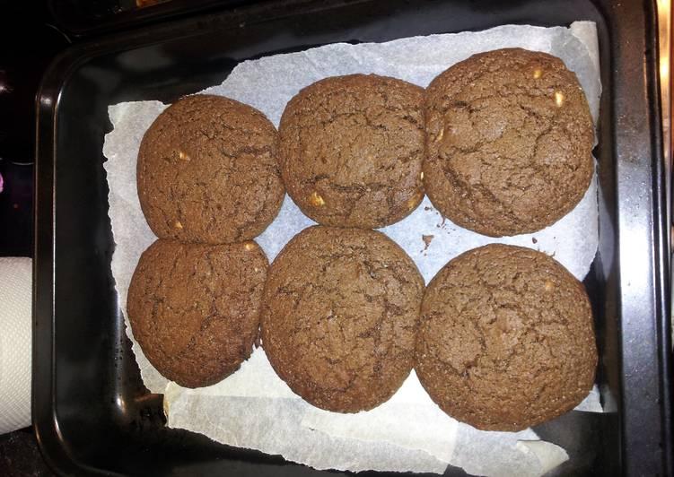 Megans Dark Chocolate Orange Cookies
