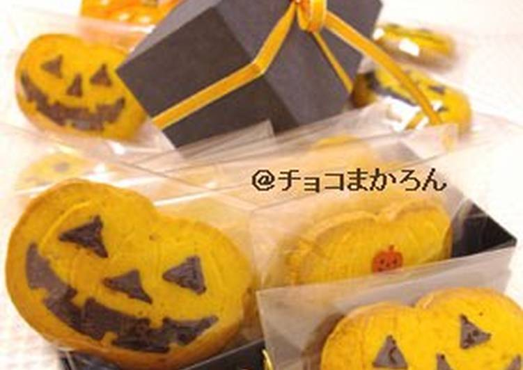 Kabocha Squash Cookie for Halloween