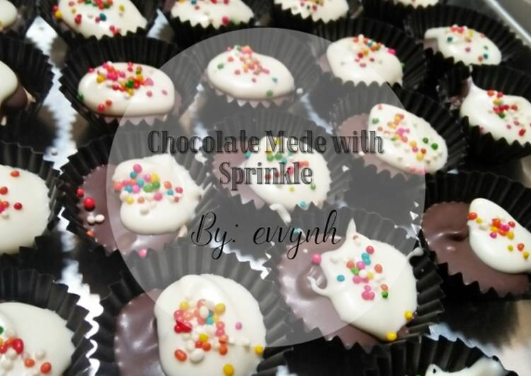 Chocolate Mede with Sprinkle