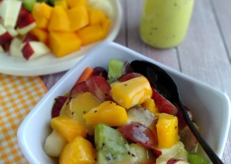 22.Salad Buah *dressing: honey-fruit vinaigrette