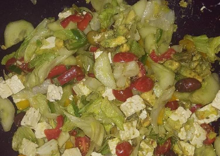Summer Green Salad