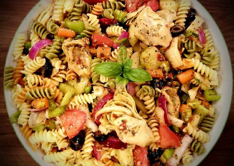 Mike's Chilled Artichoke Pasta Salad