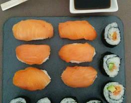 Sushi, maki y nigiri