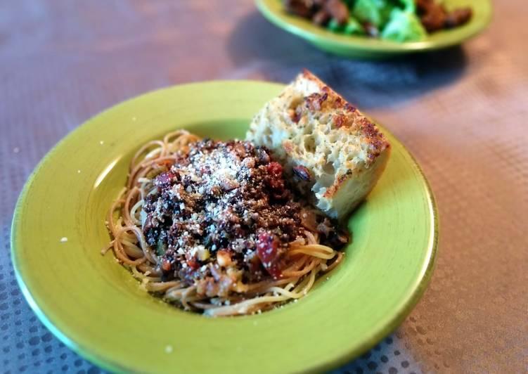 Traditional Bolognese Spaghetti Sauce