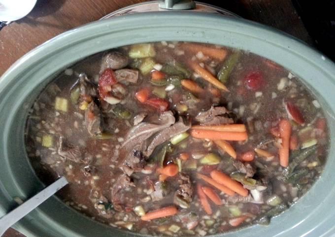 vegtable/beef soup
