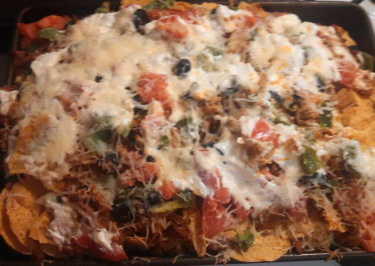 Recipe of Perfect Ground turkey nacho bake