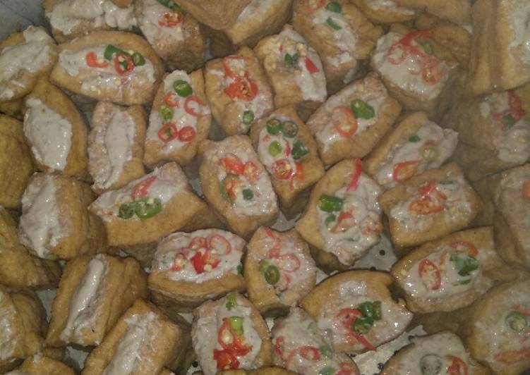 Tahu Bakso Ayam Ori & Pedes(Bisa untuk usaha jualan frozen food)