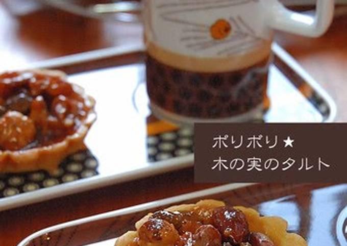Crunchy Mini Nut Tarts