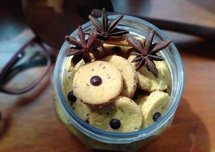 Cookies labu kuning (gluten free, sugar free)