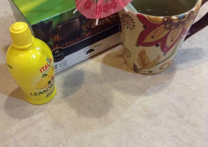 Steps to Make Perfect Green Tea Detox For Keurig 2.0