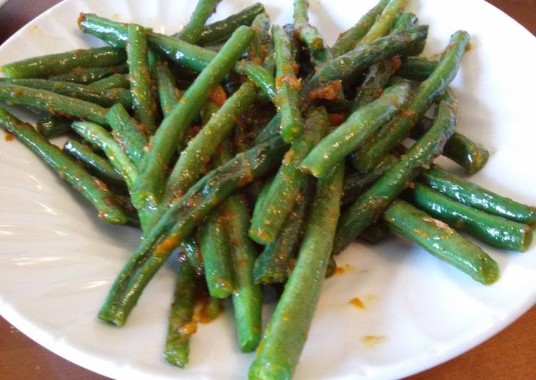 Steps to Prepare Ultimate Tangerine Green Beans