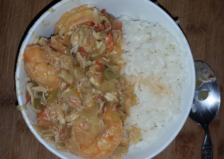 Shrimp Etouffee