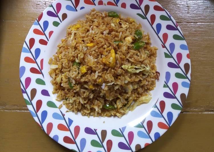 Nasi Goreng Sayur Kol