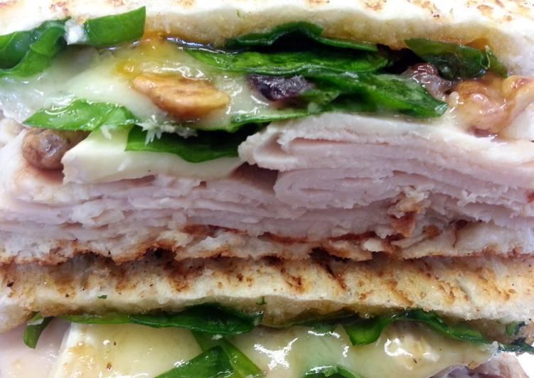 Simple Way to Make Homemade Crunchy Turkey-Brie Panini