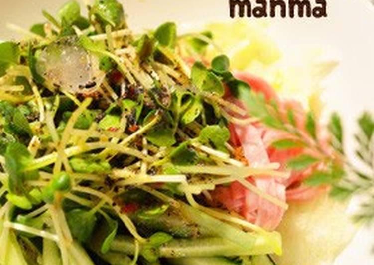 Recipe of Favorite Chilled Dan Dan Noodles with Black Sesame Seeds