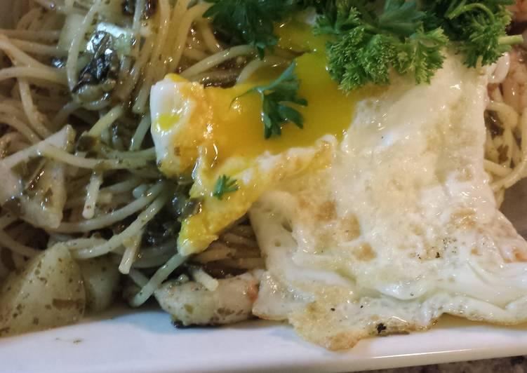 Healthy Pesto Delight