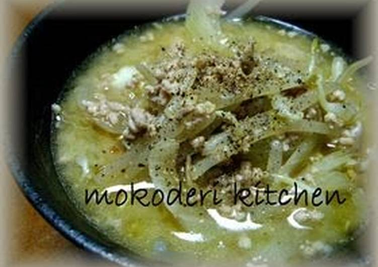 Easiest Way to Prepare Homemade Economical Pre-Pay Day Pork Soup