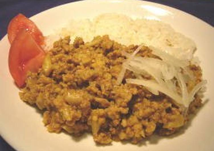Cauliflower Keema Curry Choosing Healthy and balanced Fast Food