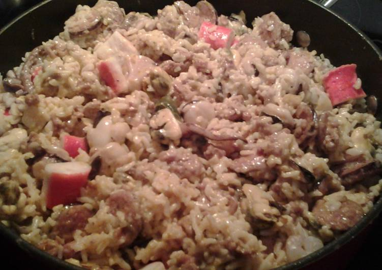 Best Seafood Jambalaya, Finding Healthy Fast Food