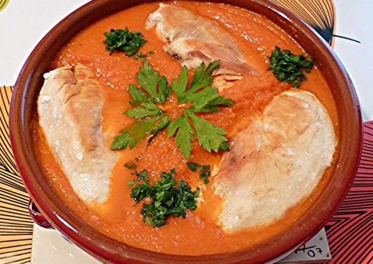 Delicious Chicken in Veggie Sauce