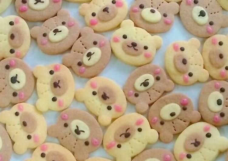 Recipe of Speedy Teddy Bear Cookies