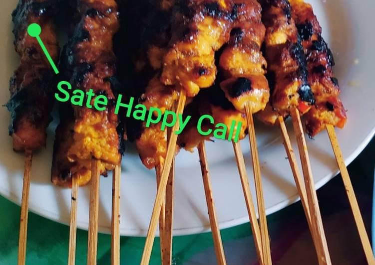 Sate Ayam Happy Call - cookandrecipe.com