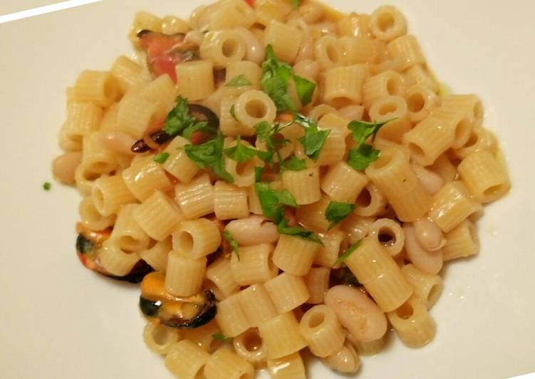 Easiest Way to Make Any-night-of-the-week Pasta fagioli e cozze