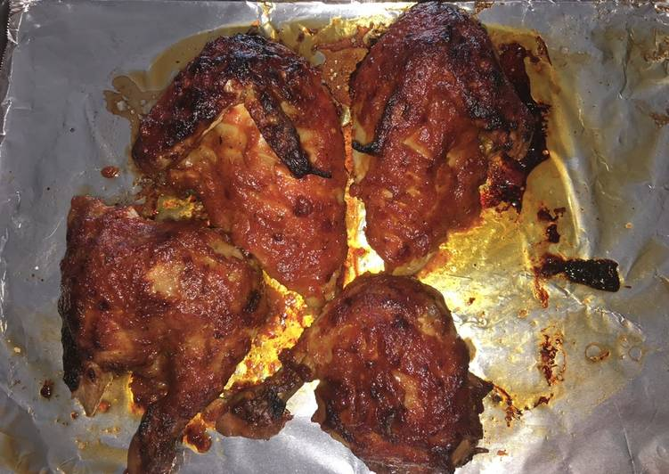 Ayam Panggang saus peri peri