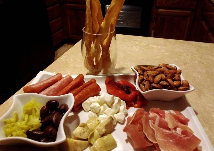 Recipe: Delicious Super easy antipasto platter