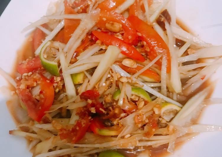 Salad Pepaya Thailand / Som Tam