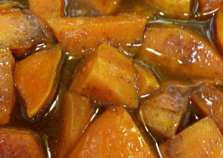 Simple Way to Prepare Favorite Southern baked candied yams