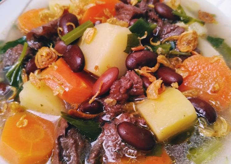 Resep Sayur Sop Kacang Merah Yang Simple Pasti Enak