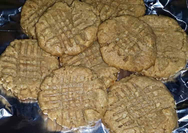 Amazing 4 step PB Cookies 😋
