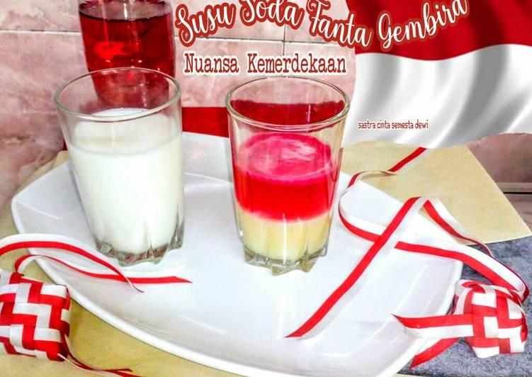 Susu Soda Fanta Gembira (Nuansa Kemerdekaan RI)