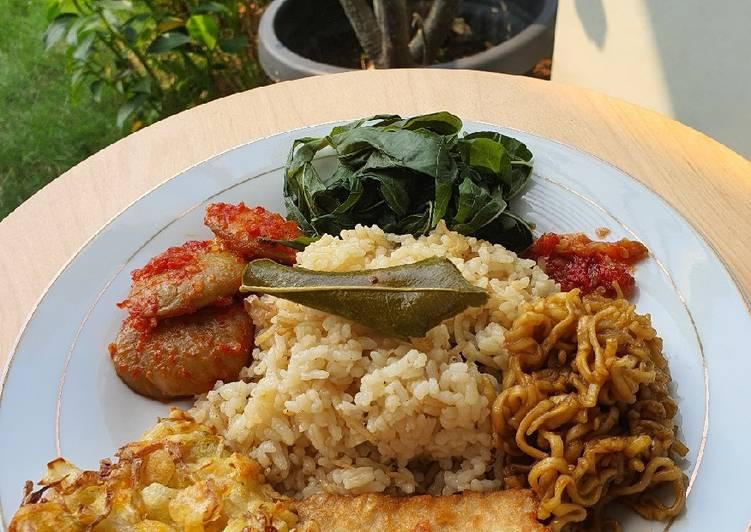 Nasi Liwet Daun Jeruk - cookandrecipe.com