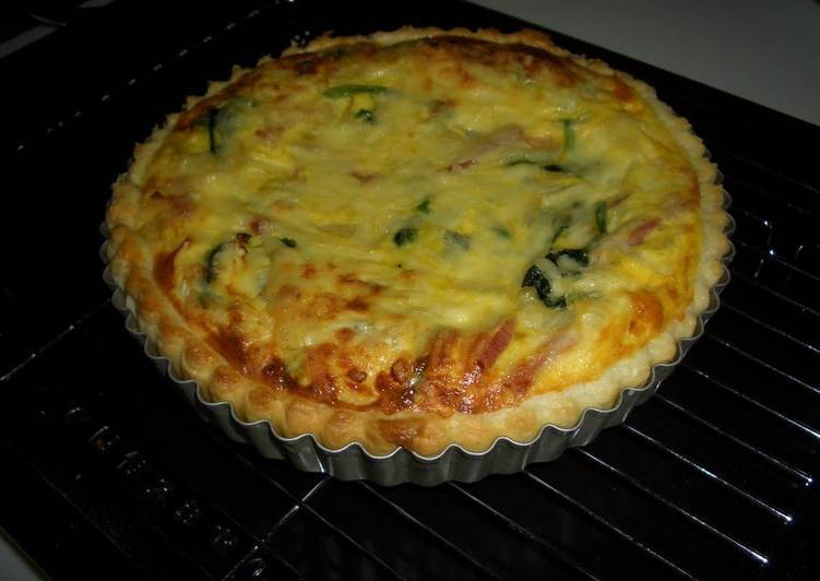 Use Food to Boost Your Mood Simple Home-Made Quiche without Heavy Cream