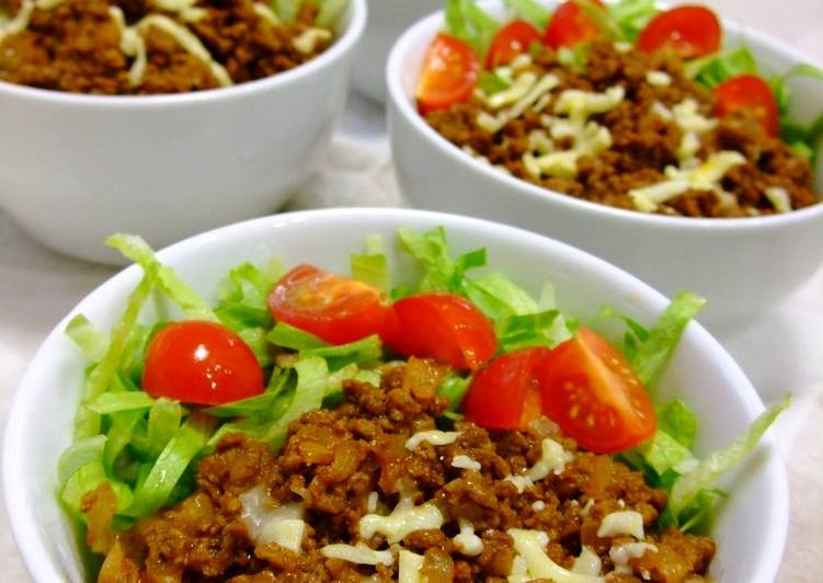 Recipe of Super Quick Homemade Taco Rice