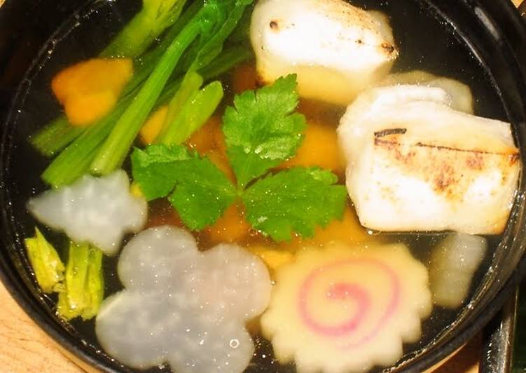 Recipe of Quick For Udon, Soba, and Ozouni! How to Make Rich Dashi Soup
