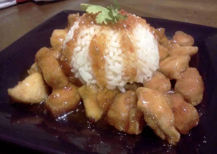 Simple Sweet Chilli Chicken