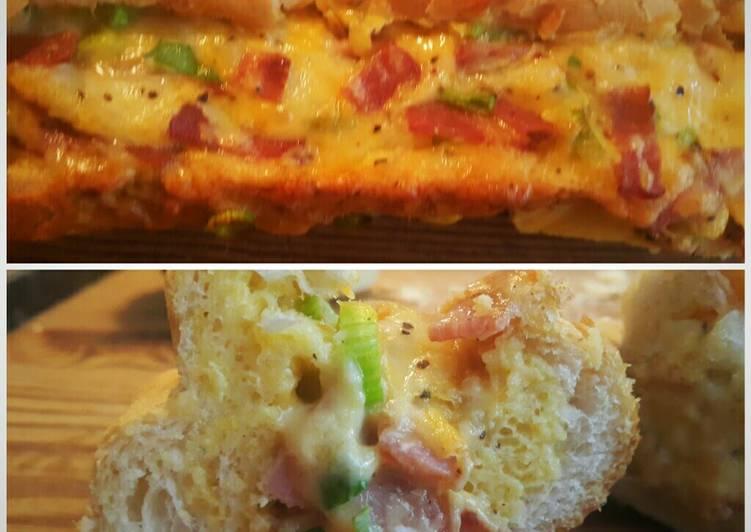 How to Prepare Yummy Breakfast Bread Boat.