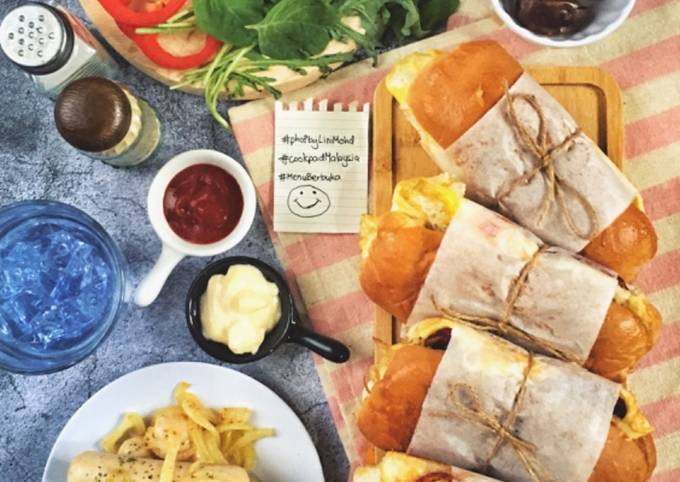 Roti John ala mamaell #phoPbyLiniMohd #menuberbuka